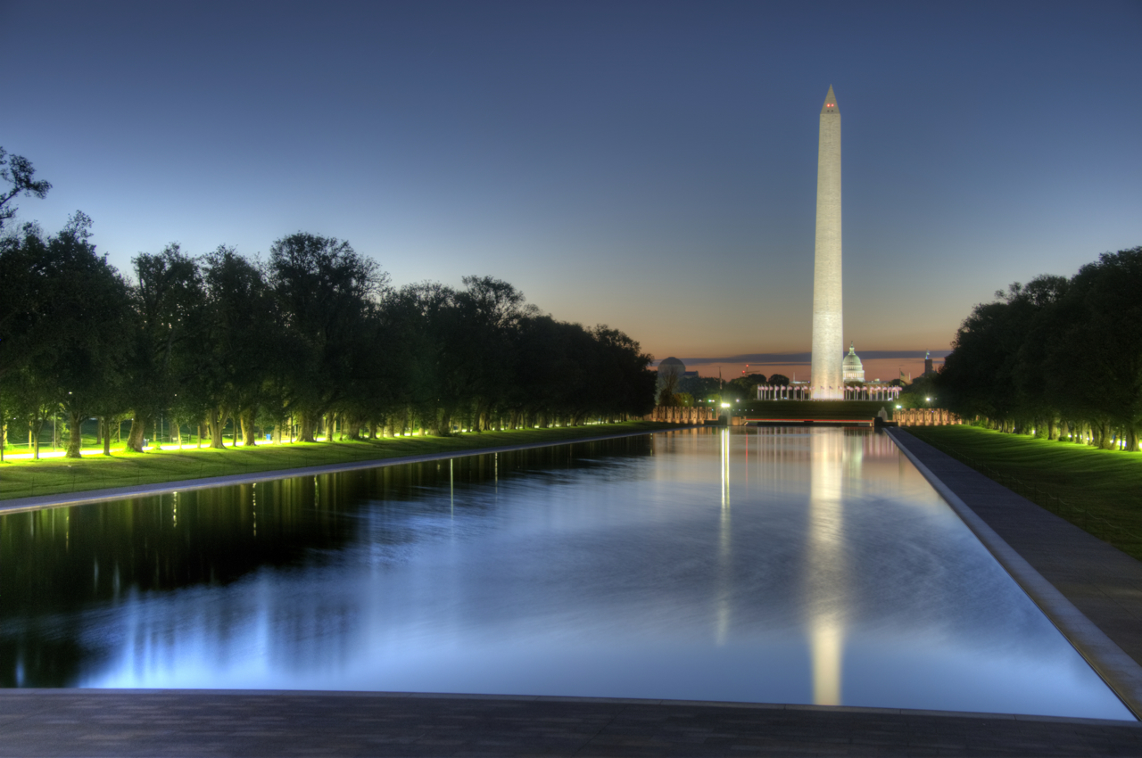 Sightseeing with kids in dc goodmumhunting - Reflecting pool ...